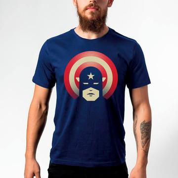 Camiseta Captain America Patriotic 108