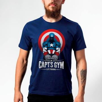Camiseta Captain America Capt's 121