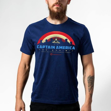 Camiseta Captain America The Exhibit 122