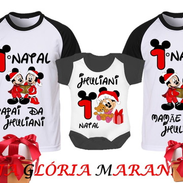 KIT NATAL DO MICKEY E MINNIE