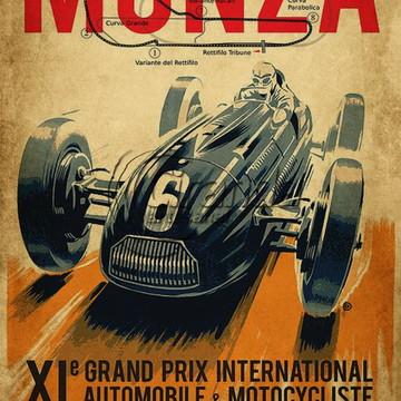 Placa Decorativa Formula 1