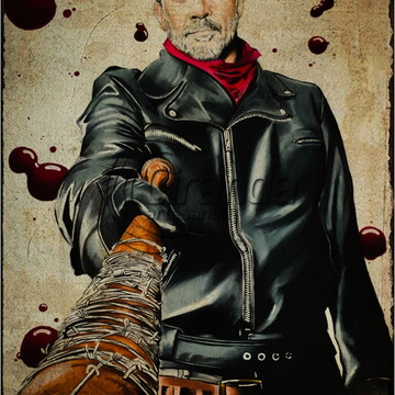 Placa Decorativa Walking Dead