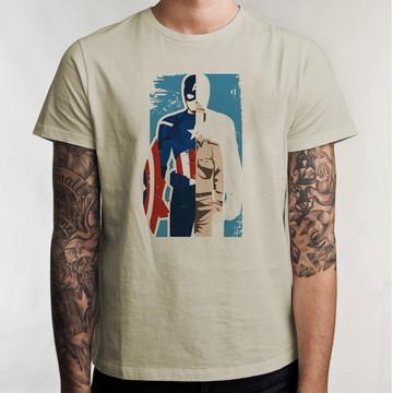 Camiseta Captain America Steve 5064