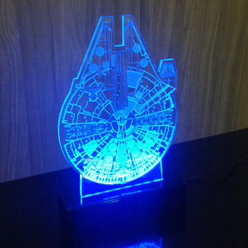 Luminária STAR WARS FALCON
