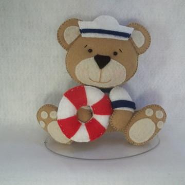 Centro de mesa ursinho marinheiro