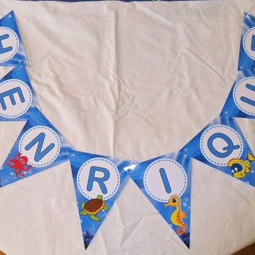 Bandeirinha Personalizada