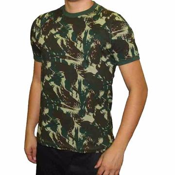 Camiseta Camuflada Malha Alg. Paintball