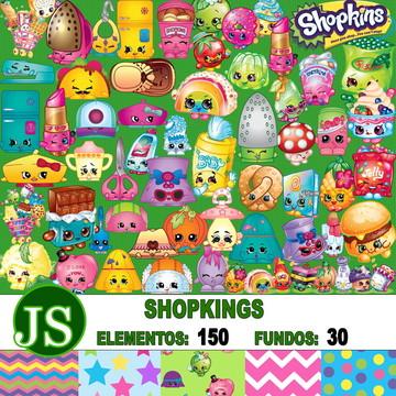 Kit Digital Scrapbook Shopkings