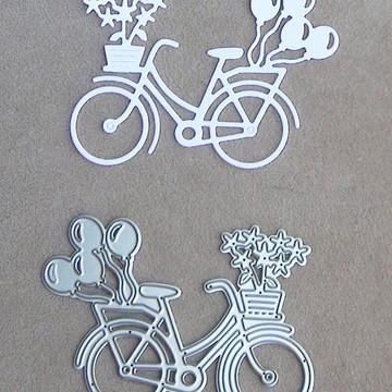 Facas de Corte para Scrapbooking - Bicicleta