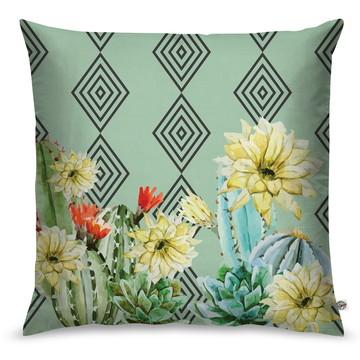 Capa de Almofada Cactus Flower