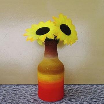 vasos decorativos com flor