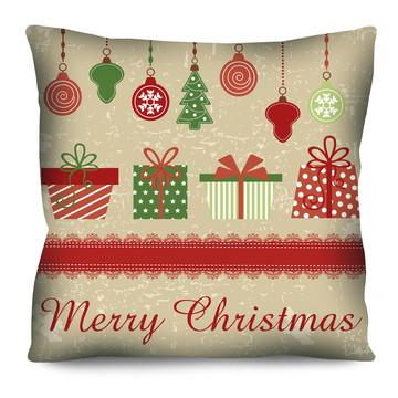 Almofada de Natal - Presentes- NT-12