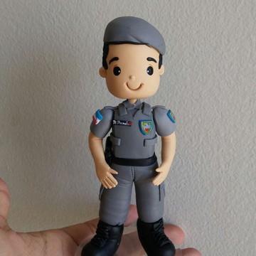 Topo de bolo policial
