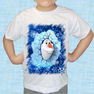 Camiseta divertida Frozen 80