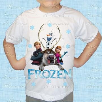 Camiseta divertida Frozen 85