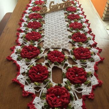 Caminho de mesa flor caracol