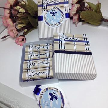 Caixa para chocolate Maternidade aviões