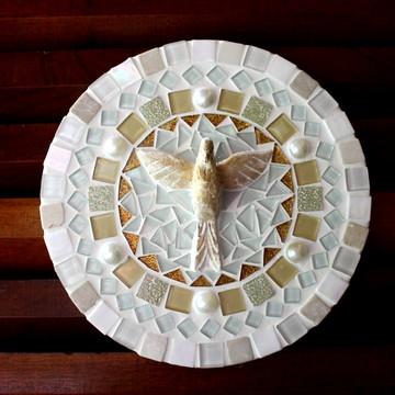 Mandala Divino Espírito Santo Branca P