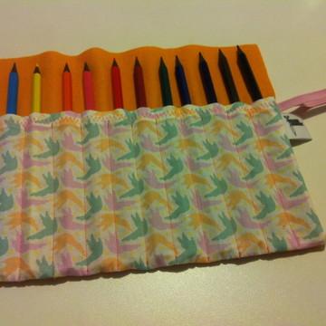 Estojo lápis de cor 24 cores