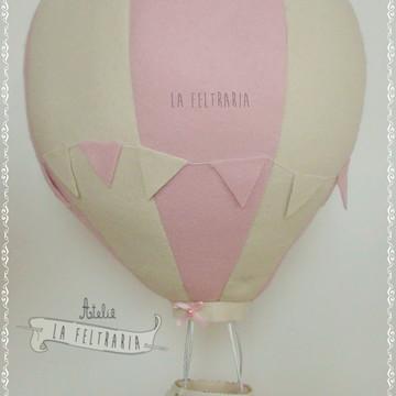 Balão em feltro para decoração ou festa