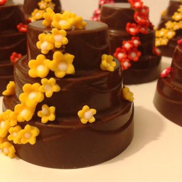 Mini Bolo de Chocolate 6cm