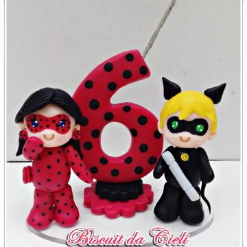 Topinho Ladybug e Cat Noir