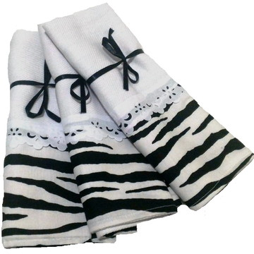 Pano de prato zebra