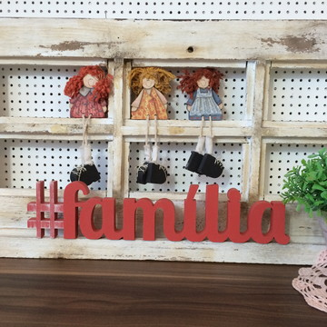 Hashtag #Família - 15mm