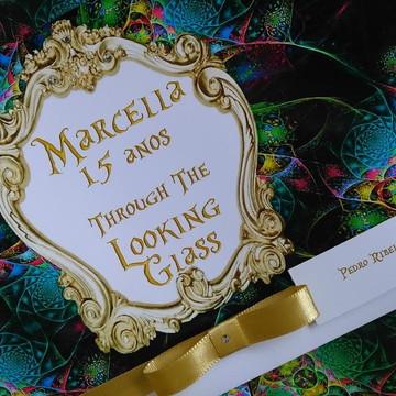 Convite de 15 anos Fashions Lindos