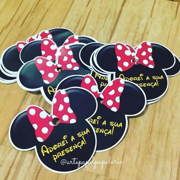 Tags Personalizadas da Minnie