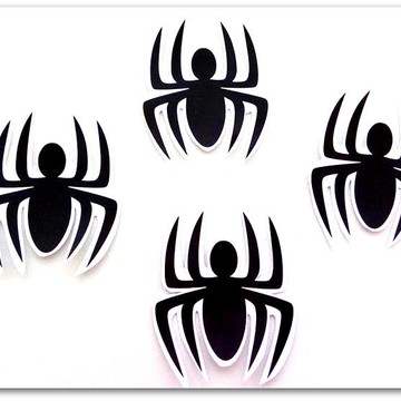 Adesivo de aranhas do Homem Aranha