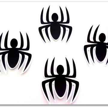 Aplique de Aranhas do Homem Aranha