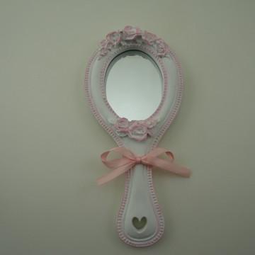 Espelhinhos de Mão Entrega Convites Festa Princesa
