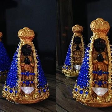 Nossa Senhora Aparecida baby - Azul.