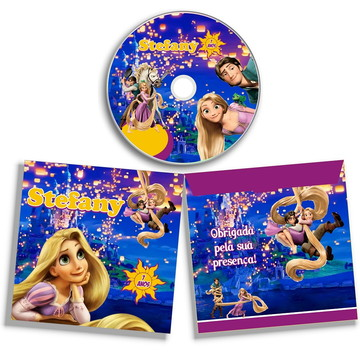 Dvd ou Cd Enrolados Rapunzel
