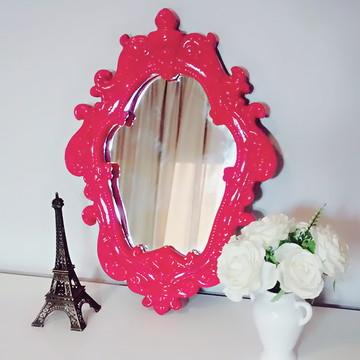 Espelho Barroco - Pink Cereja