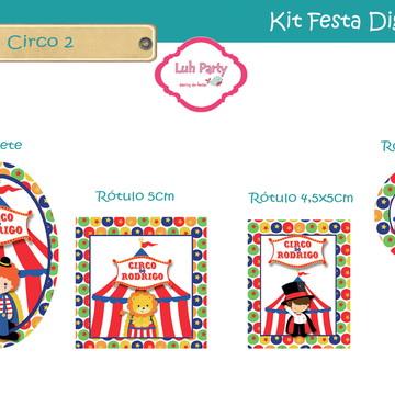 Kit Festa Digital Circo
