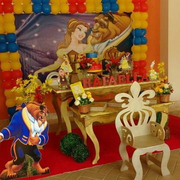 Aluguel de decoração A Bela e a Fera