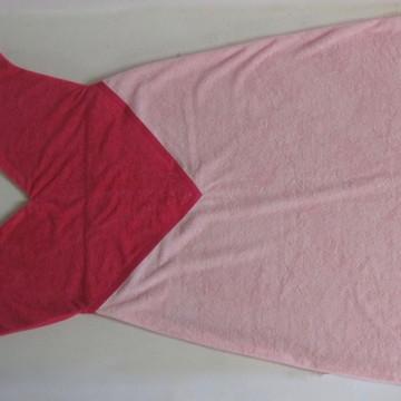 Toalha Cauda de Sereia Rosa