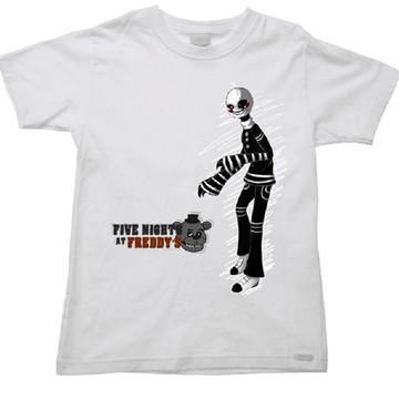 Camiseta Infantil five nights freddy 51