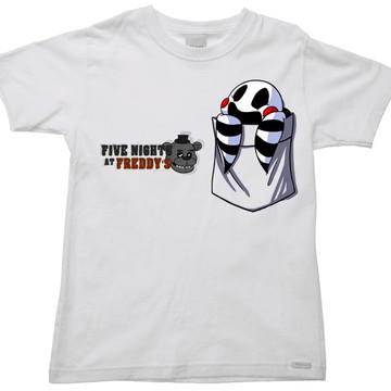 Camiseta Infantil five nights freddy 54