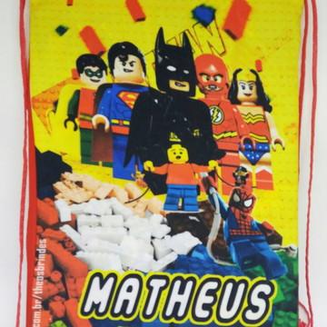 Mochilas tema lego batman