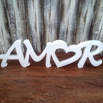 Amor Coração mod. 2 - 1345v Branco