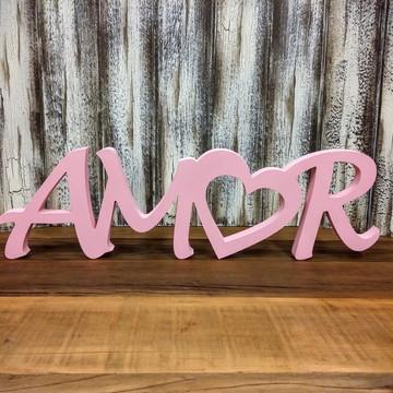 Amor Coração Mod. 2 - 1345v Rosa