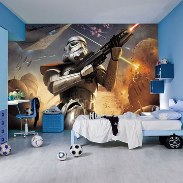 Star Wars Adesivos Painel