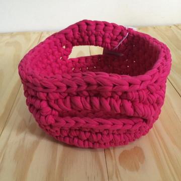 cachepot rosa pink grande