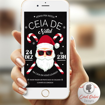 CONVITE DIGITAL | Ceia de Natal