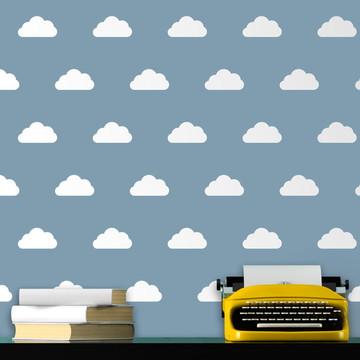 Adesivos Kit Nuvens 18 unidades