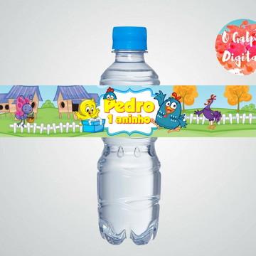 Rótulo de Água Galinha Pintadinha