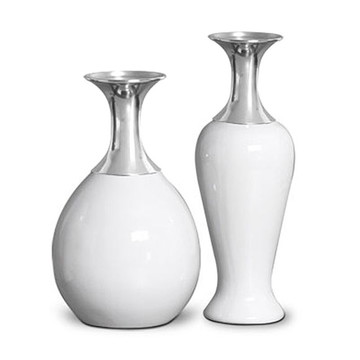 Vaso Embú + Vaso Lírio Branco